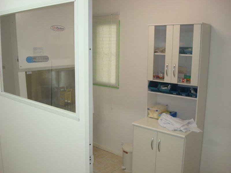 Sala de Manipulação de Quimioterápicos