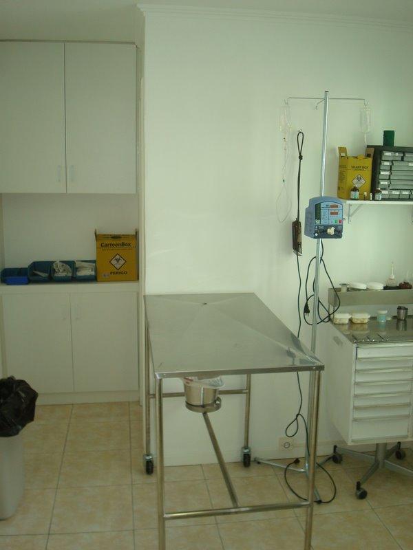 Sala de Quimioterapia e Preparação Cirúrgica